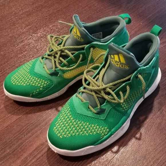 best sneakers aa7c0 57b0c adidas Other - adidas Damian Lillard 2 Oakland Size 10.5